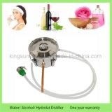 Di Kingsunshine 10L/3gal dell'acciaio inossidabile della caldaia del tubo di rame di Moonshine distillatore dell'acqua di doppia distillazione ancora