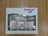 Reeks van de Toebehoren van de Badkamers van Dolomiet 4 met de Verpakking van de Doos van de Vertoning