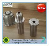 Алюминий CNC Customed точности части подвергая механической обработке/нержавеющая сталь/сталь/утюг углерода подвергая механической обработке