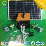 100W huis dat het Draagbare Systeem van de Zonne-energie met behulp van