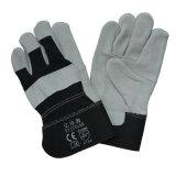 Полная перчатка работы руки Split кожи Cowhide ладони защитная с Ce En388