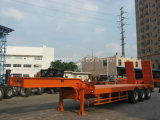 Semi-Trailer de 3axles Lowbed