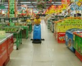 Handels- und industrieller automatischer Weg hinter Wäscher-Trockner mit Kabel