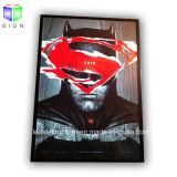 Tamanho A1 Poster de filme de LED para publicidade ultrafinos Caixas de luz