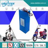 Pacchetto ricaricabile 48V della batteria della E-Bici dello ione del litio dell'OEM con la Banca dei Regolamenti Internazionali di RoHS MSDS del Ce