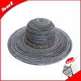 Chapéu das mulheres Chapéu flexível Chapéu do sol Chapéu do verão
