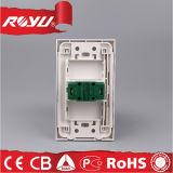 Гнездо штепсельной вилки стены 2-Pin электропитания всеобщее для дома
