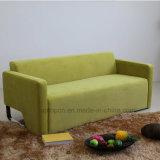 Fashion Green Fabric Hotel Sala de estar com sofá-cama com apoio de braços (SP-KS372)