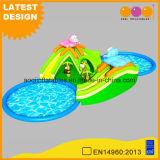 Safari Parc de l'eau gonflable avec glissade de pivotement de jeu de sport (AQ01780)