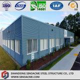 Helles Stahlrahmen-Gebäude für Büro-Gebrauch
