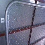 電流を通されたまたはPVC上塗を施してある一時構築のチェーン・リンクの塀
