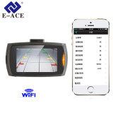 Câmera do carro DVR do G-Sensor com o gravador de vídeo da função de WiFi