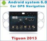 Новый автомобиль GPS системы 6.0 Ui Android на Tiguan 2013 с навигацией автомобиля
