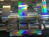 Máquina que raja de la película olográfica de alta velocidad