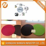 High-Class качество делая Non-Stick утварями Cookware Silk круг алюминия покрытия ручки печати Non