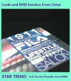 Carte-cadeau particulière avec fini matele / Highlight Logo vernis UV
