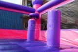 Roze Opblaasbaar Kasteel Bouncy met Dia Chb573