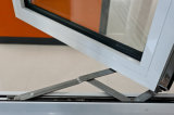 Aluminio de doble acristalamiento de ventana de bisagras, Ventana oscilación