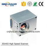 Автомат для резки лазера головки развертки цифров Jd1403 апертуры луча High Speed 9mm