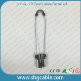 Abrazadera del cable de la fibra del metal de la alta calidad