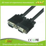 De color negro de 6FT Cable VGA / Cable de ordenador