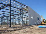 Estructura de acero del marco prefabricado del espacio/estructura del braguero del marco