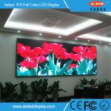 HD dell'interno P10 riparato & affitto che fa pubblicità allo schermo di visualizzazione del LED di colore completo