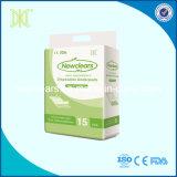 Soins médicaux absorbants disponibles sous le tampon
