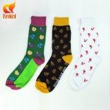 Glückliche Socken für Mädchen und hübsche Kleid-Socken mit Zoll