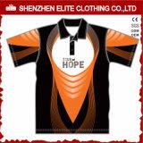 Рубашки пола людей комбинации цвета напечатанные таможней (ELTMPJ-619)