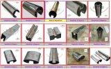 Впв сварные квадратные прорези трубопровод из нержавеющей стали
