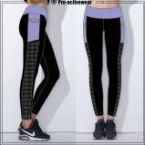 Qualitätumschaltbare Nylon-und Spandex-Yoga-Hosen