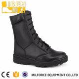 よの2017新しいデザイン黒の本革の防水軍の戦闘用ブーツ