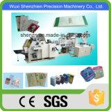 Bolso de papel de fondo cuadrado ampliamente utilizado que hace la máquina