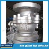 Válvula de bola industrial 2PC con Wcb / CF8 / CF8m