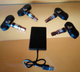 Iosの電話APP Bluetooth TPMSタイヤ空気圧のモニタシステムUSBコネクター