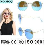 Ronda de moda óculos de sol polarizado óculos de sol para as mulheres
