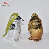 Pinguino sveglio per la famiglia/ufficio/decorazione festival/del caffè/Ceramic/B placcante