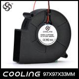 Ventilador sem escova refrigerando do ventilador da C.C. do micro ventilador 9733 5V 12V 24V do fabricante Cl97