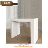 Mesa de jantar moderna de madeira dobrável