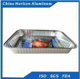 8011 80 Mikrons heiße Verkaufs-Aluminiumfolie-Behälter-