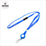 ID Badge Card Holder Retractable Reel Recoil Lanyard Nome Tag Key Belt Clip