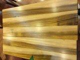 Farben-Kontrast-goldene Farbe-afrikanischer Teakholz-Bodenbelag