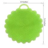 Щетка Dishwashing скрубберов тарелки силикона