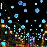 LED-Weihnachtskugel-im Freienlicht von der Fabrik