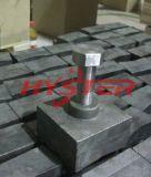 Extrémités de marteau de défibreur de carbure de chrome de pièces d'usure de machines de Sugercane