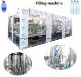 Linha de produção bebendo engarrafada pequena completa automática cheia da planta do engarrafamento da água mineral