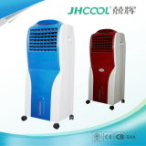 Refrigerador portátil elétrico do deserto do aparelho electrodoméstico mini com o condicionador de ar evaporativo da roda