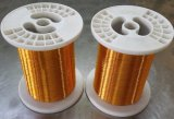 O fio de alumínio folheado de cobre esmaltado, venda esmaltou o fio de alumínio folheado de cobre feito em China