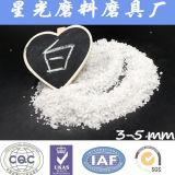 Materiales blancos de Refracotory de la arena del óxido de aluminio de las capas